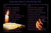 Những Bài Hát Thánh Ca Lễ Cầu Hồn Hay Nhất