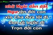 Vững bước theo Chúa (karaoke)